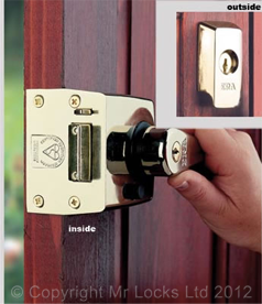 Newport Locksmith BS3261 Nightlatch Lock