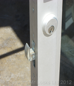 Adams Rite Lock Aluminium Door
