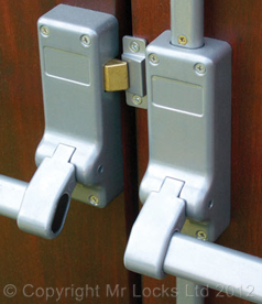 Mr Locks Panic Bar Fire Door